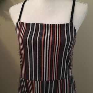 Urban Outfitters Dresses - Urban Outfitters Stripe Strappy Dress Size Large L